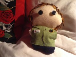 Mini Chibi Gerard Way Professional Griefers Doll by Raven052