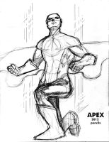 Apex pencils by wildcats25
