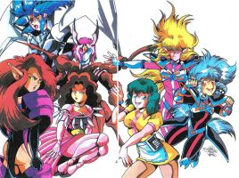 Egoraven's Iczer 3 by CD007