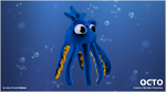 Octo the blue octopus by keller53