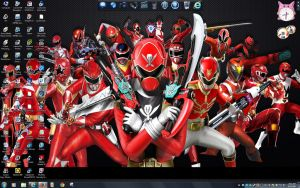 Power Rangers Super Megaforce Forever Red by BigMac1212