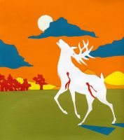 The Hunting of the White Stag by stuffed