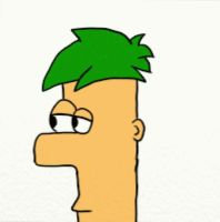 Ferb animation full color by PnF-lover56