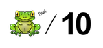 Frog out of Ten by 1mperfectionist