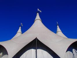 Cavalia Tents = Symmetry by OrioNebula