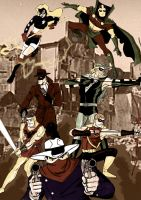 Seven Soldiers Of Victory III by ClarkyBoingo