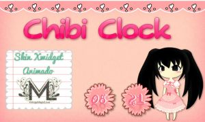 Chibi Clock by Iko-Kawaii