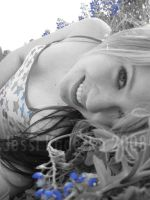 Another one in the Bluebonnets by J6Blondie