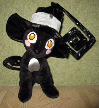 Blair cat plushie, Soul Eater by Rens-twin