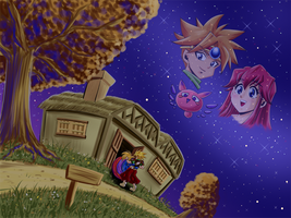 [Terranigma] The place I go home to by Kyo-Akemori