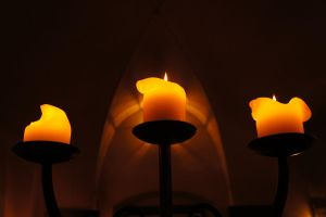 Like a candle by Power-Barbie