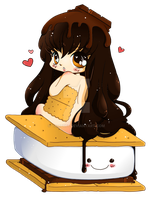 S'more Chibi - Commission by YamPuff