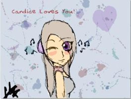 Candice Loves you by XxPoisonlollypopxX