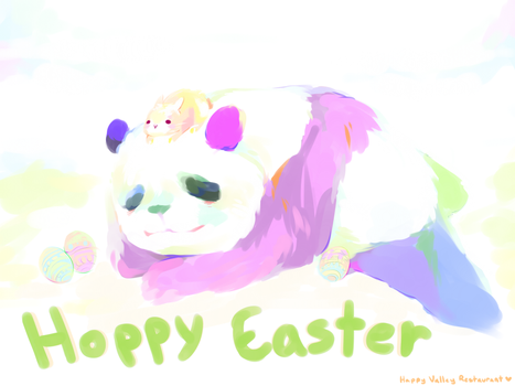 Hoppy Easter by Kechuppika