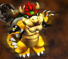 Bowser the Almighty Koopa King by RosalinaSama