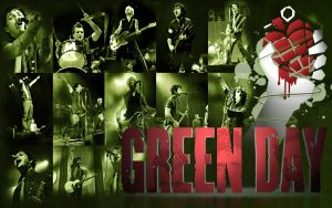 Green Day by hmaxkay