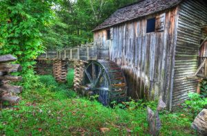 Old Grist Mill by PaulWeber