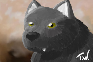 Tarr Painting by WerewolfPuppy