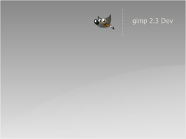 Gimp 2.3 Splash by tuziibanez