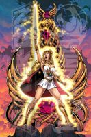 POWERCON/THUNDERCON 2012 She-Ra Poster by Tonywash