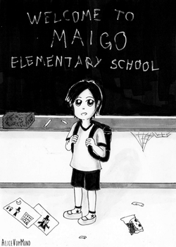 Welcome To Maigo Elementary School by AliceVomMond
