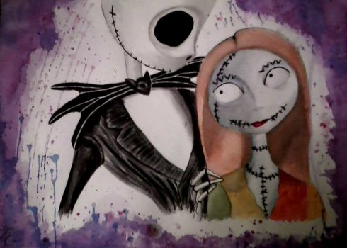 Jack and Sally by auslanae