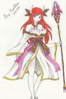 Erza in the armor, Camael by Lucy-Constellation