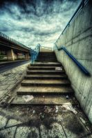 Concrete and clouds III by kubica