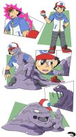 Ash into Muk by nesise