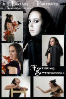Exclusive: Fantasy Portraits 1 by lindowyn-stock