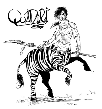 FGG Illustration - Quadira the Elephant Poacher by The-Greys