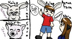 Bro and Me Animeified by Torture-kun