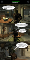Skyrim is Strange - Mannequins by HelloMyNameIsEd