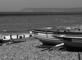 on the shore by awjay