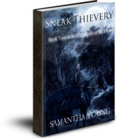 Sneak Thievery by Samantha Young by Phatpuppyart-Studios