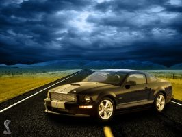 Ford Shelby GT Wallpaper by bartje006