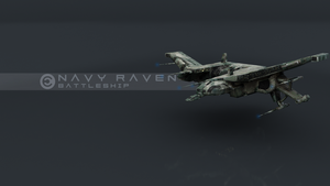 Eve: Raven Navy Issue by foxgguy2001