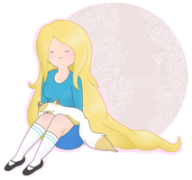Fionna and Cake by AndiScissorhands