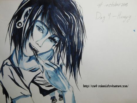 Inctober. Day 4 - Hungry by Earl-Seimei