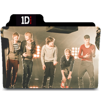 One Direction Mac Folder Icon by kndllalx