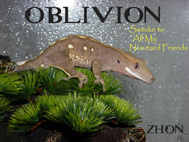Crested Gecko Oblivion by Zhon