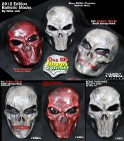One Big Happy Family Ballistic Masks 2012 by Uratz-Studios
