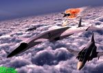 XB-70 Painting (The end of an era) by OumbreonO
