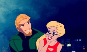 Disneyfied Olicity by 1angel0wings1
