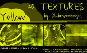 Textures - Yellow by lilbrokenangel