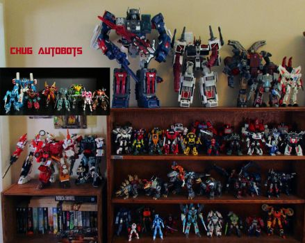 My CHUG Autobots Collection 2016 by Unicron9