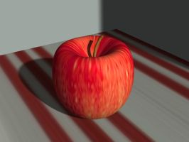 Model Apple by todd102030