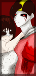 Eyeless Alice and Lost Silver. by Lost-Gold-Silver