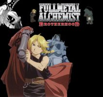 FMA Brotherhood collab by Smashspite