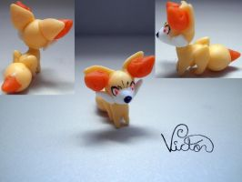 653 Fennekin by VictorCustomizer